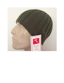 fd35e39fb2d Ravelry  Grey s Anatomy Chemo Cap for Men pattern by Knots of Love