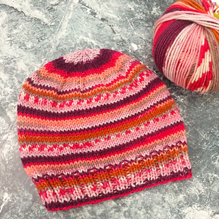Ravelry  Child s Self-striping Hat pattern by Janet D. Russell 0d21e1f0297