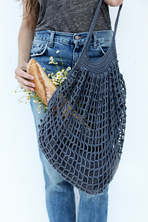 Ravelry French Market Bag Pattern By Alexandra Tavel
