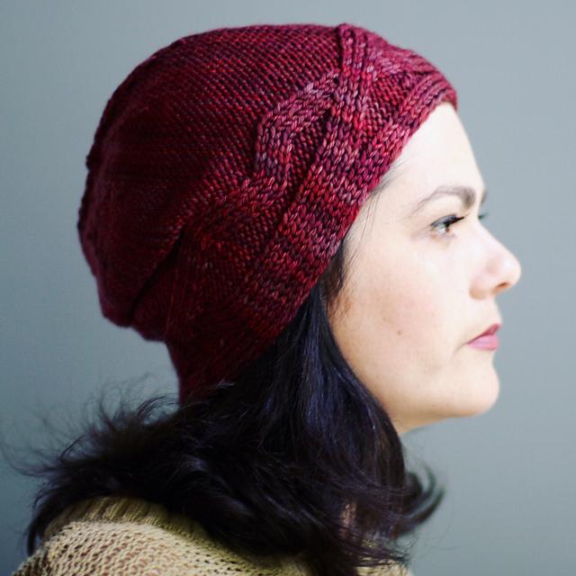 Bonnet tricoté Twin Peaks par Faye Kennington