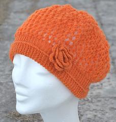 Spring Beret Knitting Pattern : Ravelry: Spring beret/Varbasker pattern by Karin M Andersson