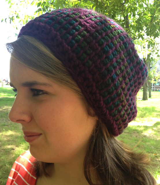 Ravelry Slouchy Tunisian Hat Pattern By Kristi Greeson
