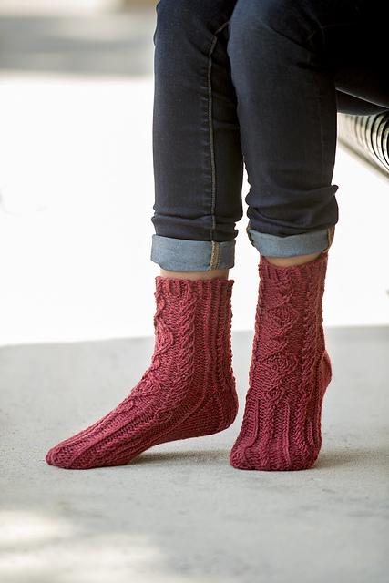 94eaacb9bef1 Ravelry  Tillery Socks pattern by Amy Gunderson