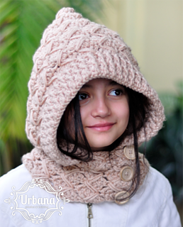 Hooded Cowl Knitting Pattern Ravelry : Ravelry: Hooded Cowl pattern by Ana Galvan