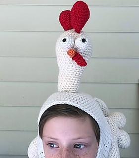 Ravelry Birdbrain Chicken Hat Pattern By Care Sharpin