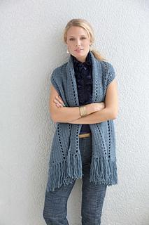 Simple Rectangle Shrug pattern by Vanna White - Ravelry