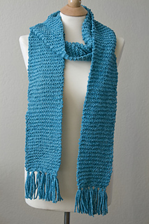 Ravelry Basic Garter Stitch Scarf Pattern By Veronica