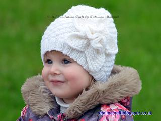 63b5c4f58e8 Ravelry  Frozen Flower Hat pattern by Tatsiana Matsiuk