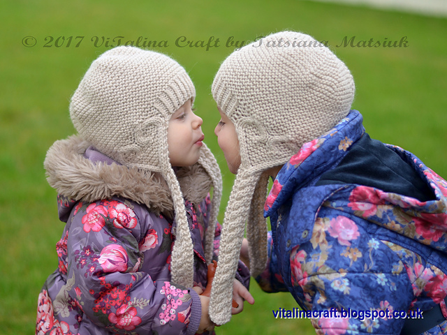 patterns   Tatsiana Matsiuk s Ravelry Store.   Hearts Queen Earflap Hat 10f6686bf71