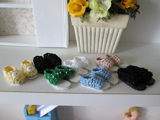 Ravelry Liv Doll Shoes Pattern By Vicki Johnson