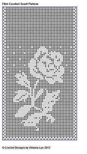 Filet Crochet Patterns Free Table Runners - UG99