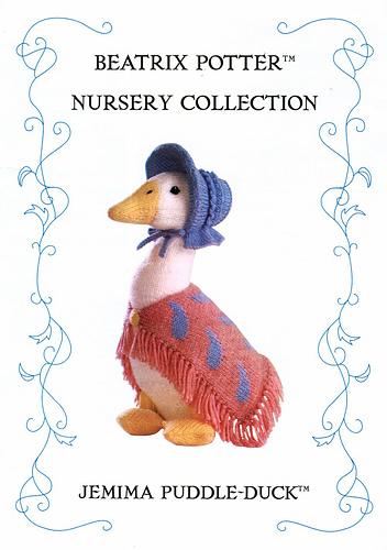 Ravelry Beatrix Potter Nursery Collection Jemima Puddleduck Patterns