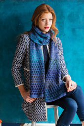 #3 Dot Stitch Scarf PDF