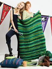 #29 Garter and Stockinette Stitch Blanket PDF