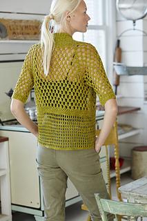Ravelry 23 Mesh Jacket Pattern By Jenny King