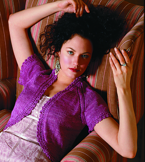 #24 Lace Trim Bolero pattern by Gayle Bunn