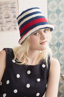 Ravelry   08 Pork Pie Hat pattern by Sandi Prosser 1afb8cc4270