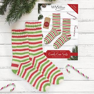 0e9add5e368 Ravelry  Candy Cane Socks pattern by Winwick Mum