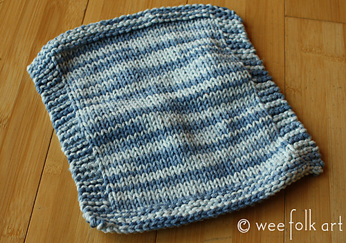 Ravelry Simple Stockinette Wash Cloth Pattern By Michelle Weefolkart