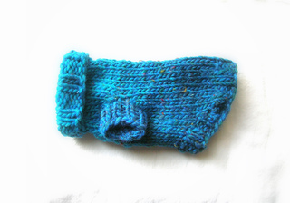 Tiny Dog Sweater Knitting Pattern