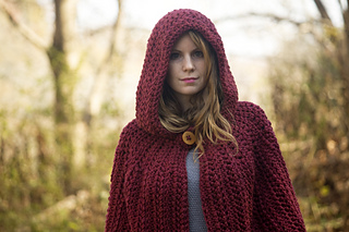 Ravelry Hooded Cape Pattern By Melissa Grice