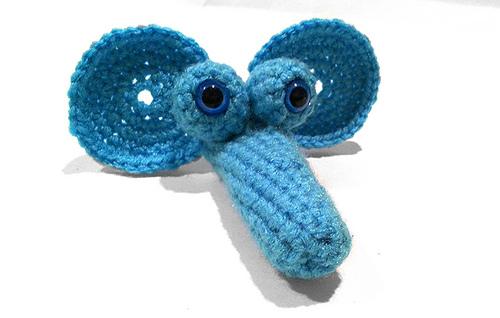 Ravelry Goofy Elephant Finger Puppet Pattern By Whispered Whimsy