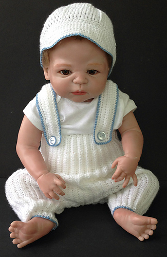 b06662a7e25 Baby Boy Christening Outfit pattern by Margaret Whisnant - Ravelry