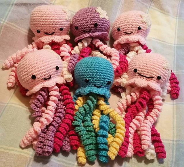 Ravelry: Jellie Jellyfish pattern by Comically Creative Designs