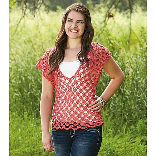 Ravelry: Alhambra Top pattern by Rae Blackledge