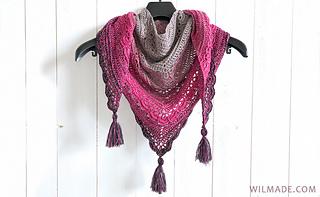 Ana Lucia Shawl pattern by Wilma Westenberg