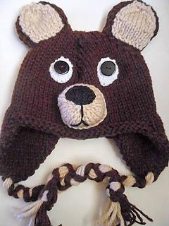 8eb0d5c763119 Ravelry  Teddy Bear Hat knit pattern by Wistfully Woolen