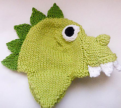 Ravelry  Animal Hat Dragon or Dinosaur pattern by Wistfully Woolen 03093fe2ad5