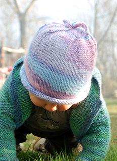 Ravelry  Baby I-Cord Beanie pattern by Woolly Wormhead b6dd2e3c38b