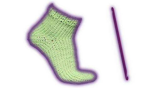 Ravelry: Wooly Tricks sock tunisian crochet pattern / tunesische ...