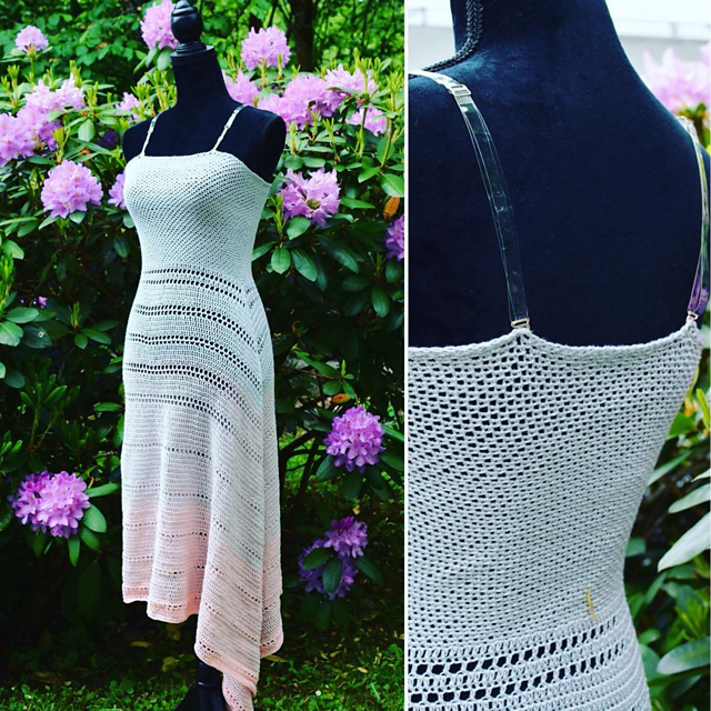 Ravelry: Maxikleid / dress Passion pattern by Julia Marquardt