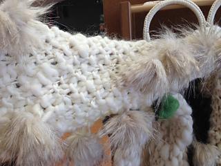 Ravelry: YARNSBYDESIGN's Fuzzy Pearls Seed Stitch Scarf