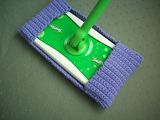 Scrubby Bobbles (Swiffer Cover) pattern by Amber Jones