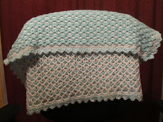 Ravelry Reversible Baby Afghan Pattern By Carole S