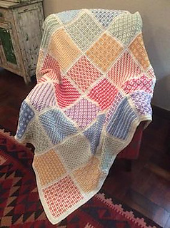Ravelry Wacky Weave Squares Pattern By Hilda Steyn