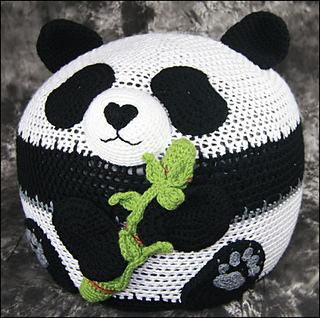 Ravelry Panda Bean Bag Chair Pattern By Yarn Twins