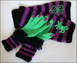 Ravelry Witch Way This Way Scarf Pattern By Yarn Twins