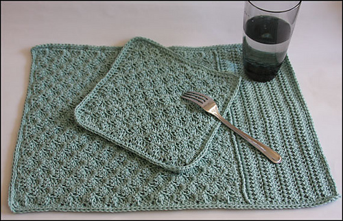 Ravelry March C2c Dishie Plus Placemat Pattern By Yarn Twins