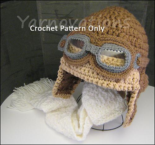 Ravelry Aviator Hat Set Pattern By Yarn Twins