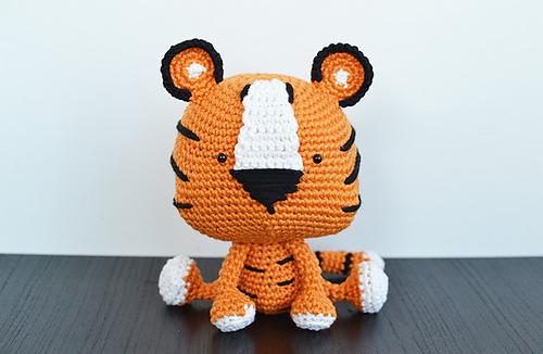 Ravelry Amigurumi Tito The Tiger Pattern By Keke Grace