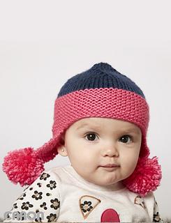Ravelry: Baby Earflap Hat pattern by Yarnspirations Design ...
