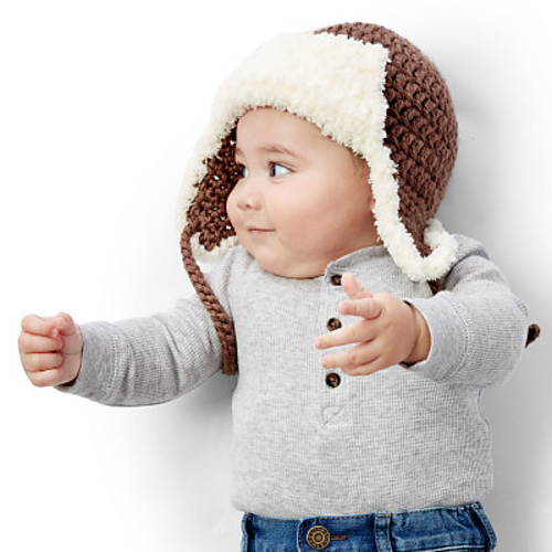 Ravelry Little Trapper Hat Pattern By Yarnspirations Design Studio