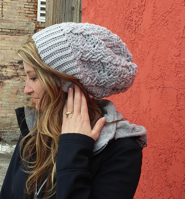 Ravelry Braided Cable Slouchy Hat Pattern By Shana Galbraith