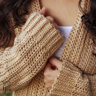 ae0af451f Ravelry  Comfy Cozy Cardigan pattern by Yay For Yarn Patterns