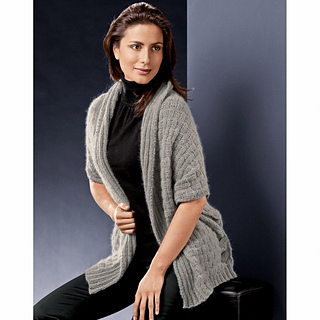 ravelry modell 157 0 poncho pullover ohne n hte pattern by junghans wolle. Black Bedroom Furniture Sets. Home Design Ideas
