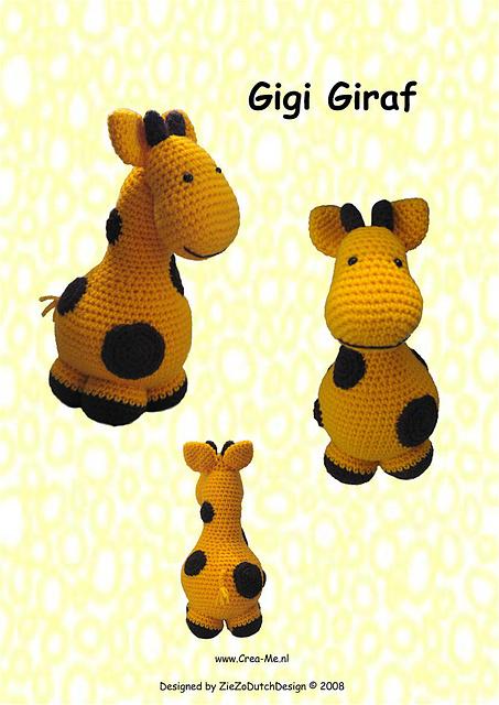 Ravelry Gigi Giraf Pattern By Marike Van Loo